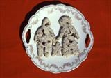 Aftertaste by Angela Edmonds, Sculpture, Shortbread, Dead Wasps, China Plate